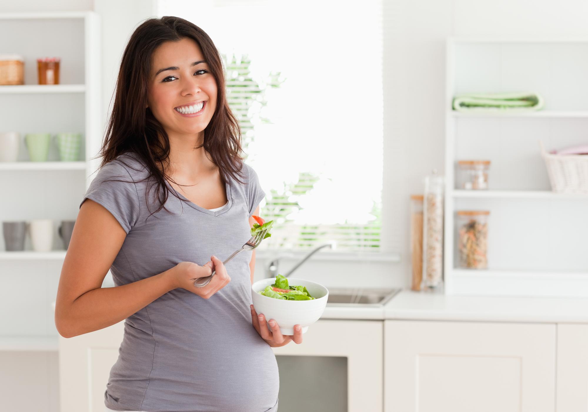 Bild Schwangere Frau